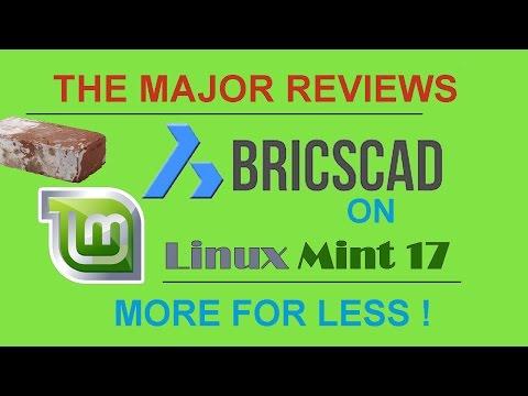 BricsCAD on Linux Mint 17 !