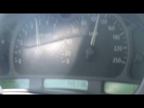 My 2002 Caprice Royale accleration 0-150 Km/h --- كابرس رويال