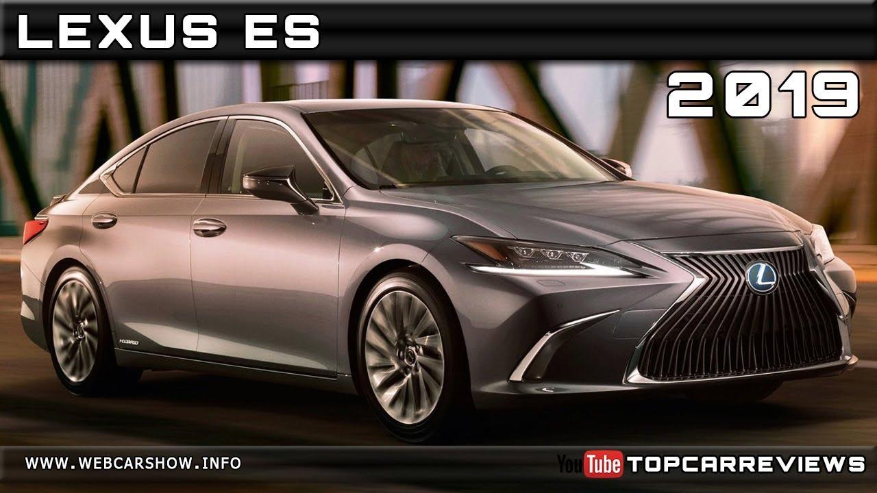 2019 Lexus Es Review Rendered Price Specs Release Date