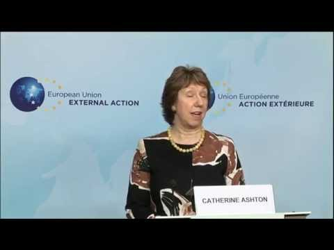Press briefing by Catherine ASHTON and Ivica Dačić, Foreign Minister of Serbia - Part 1 Download