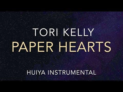 [Instrumental/karaoke] Tori kelly - paper hearts Piano ver. [+Lyrics]