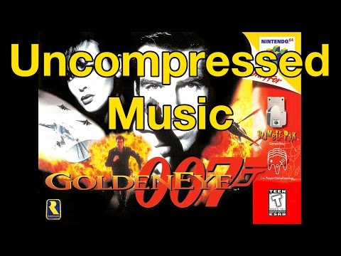 GoldenEye 007 Uncompressed Music • Nintendo 64