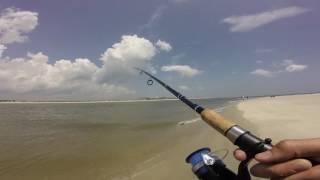 Surf Fishing Clip From Ocean Isle Beach