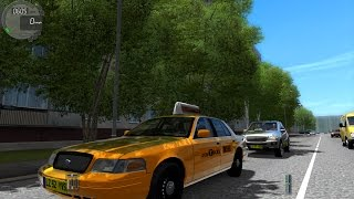 City Car Driving 1.4.0 Ford Crown Victoria Taxi [1080P]