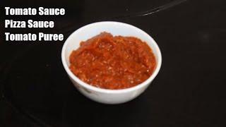 Homemade Tomato Sauce/Tamator ki Puree Recipe By Alia