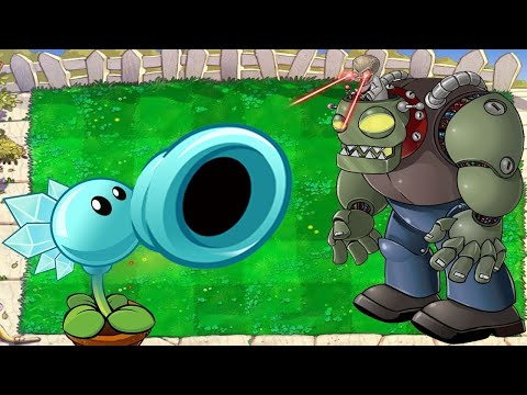 Plants Vs Zombies Battlez Minigames Gatling Pea Vs 999 Zombie Christmas PVZ