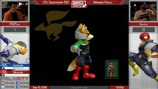 CFL Smackdown 193 Melee - PG Plup (Sheik) vs Gahtzu (Falcon) - Winners Finals