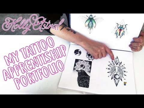 My tattoo apprenticeship portfolio