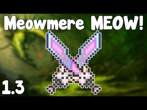 Terraria 1.3 - Meowmere , Sword of Nyaaaow... - Terraria 1.3 Guide New Melee Weapon