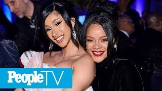 Rihanna Declares She's 'Really Happy' As She Steps Out At 5th Annual Diamond Ball | PeopleTV