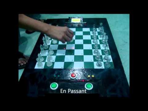 MCU-Based Electronic Chessboard