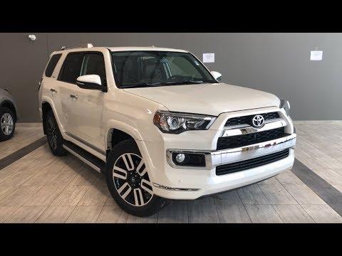 2019 Toyota 4runner Limited 7 Passenger Toyota Northwest Edmonton 94r8022