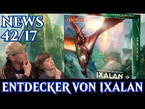 Magic News 42 Entdecker von Ixalan deutsch traderonlinevideo MTG Trader TOV trader-online.de