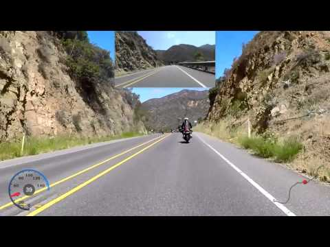 Motorcycle Ride on Ortega Highway - From Lake Elsinore to San Juan Capistrano