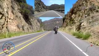motorcycle ride on ortega highway from lake elsinore to san juan capistrano
