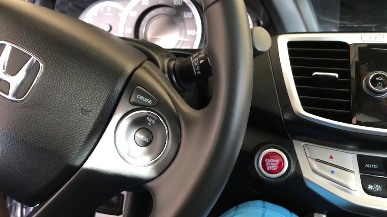 2017 Honda Accord Starter Problem