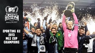 Sporting KC 2013 MLS Cup Champions | Playoff Central