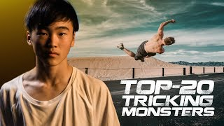 TOP-20 TRICKING MONSTERS IN THE WORLD