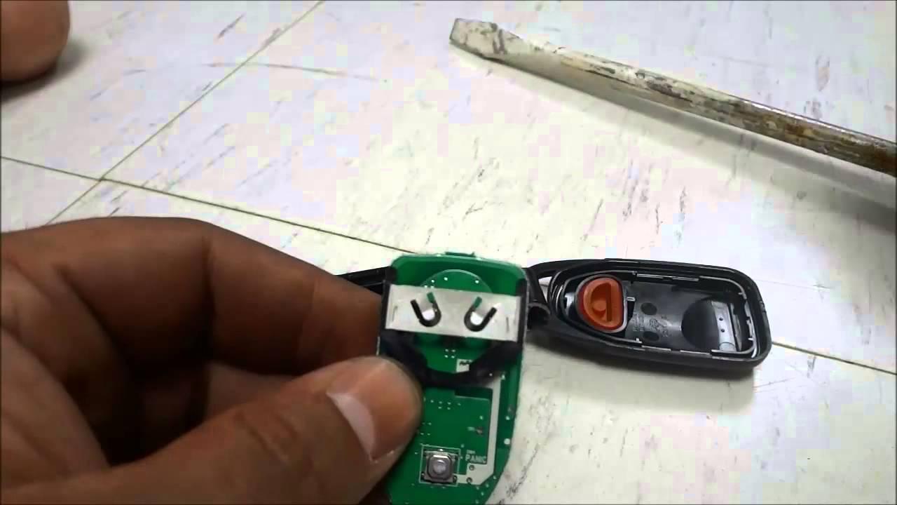How To Replace A Hyundai Sonata Key Fob Battery 2010 2014 Youtube