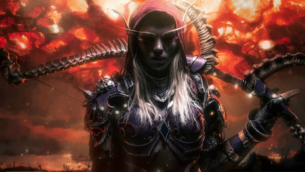 Wallpaper Engine World Of Warcraft Warbringers Sylvanas Windrunner Youtube