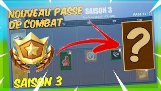 "FORTNITE PAS OF COMBAT SAISON 3 - ""NEW SKIN SECRET"" PALIER 100"