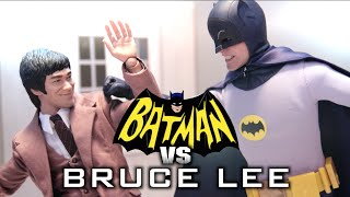 Batman VS Bruce Lee ( Stop Motion ) (Hot Toys ) *HD*