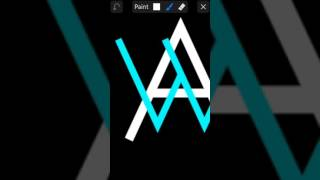 Tutorial cara membuat logo Alan Walker dengan picsay pro