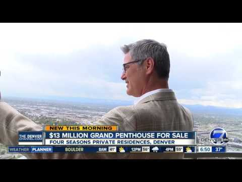 $13M Denver Grand Penthouse On The Market, Doubles First Sale Price