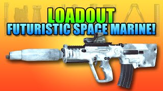 Loadout - MTAR-21 Futuristic Space Marine | Battlefield 4 Carbine Gameplay