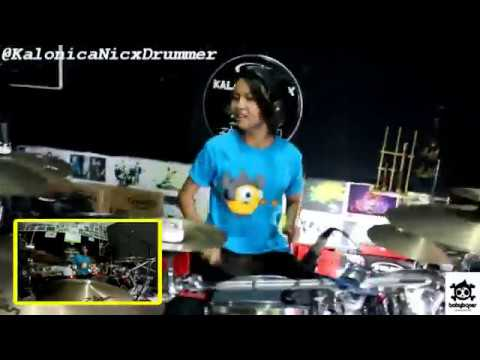 Marshmello - Alone Drum Cover by 12 yo Kalonica Nicx