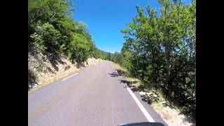 Transcontinental race 2015 - Descent from Mont Ventoux