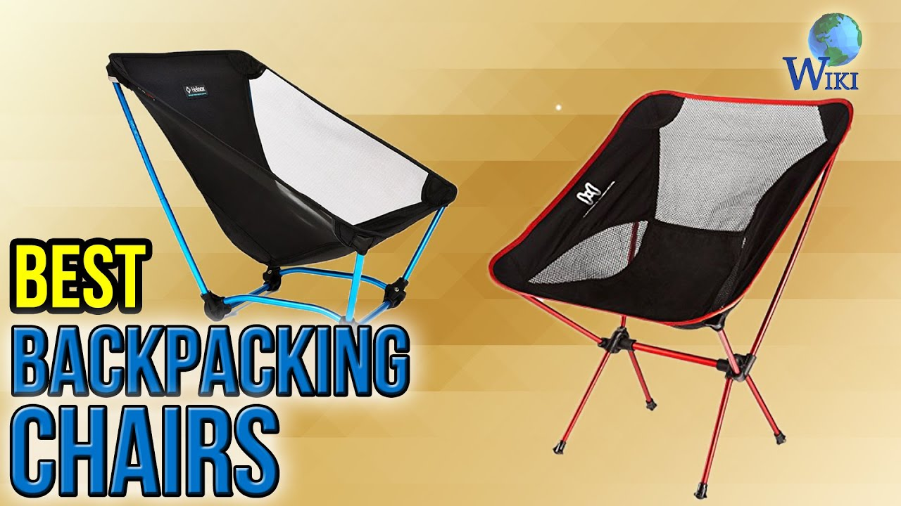 Hiking Chairs 7 Best Backpacking Chairs 2017 Youtube