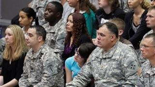 What does it mean to be a military spouse?