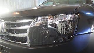 Как снять передние фары и как все лампы поменять. Renault Duster (Рено Дастер).