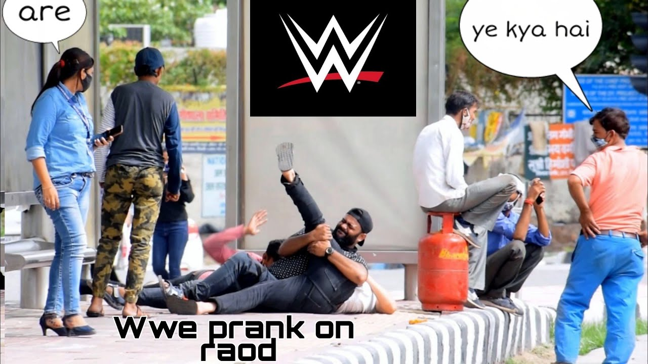 WWE prank in INDIA part2| ANS Entertainment | INDIA'S number 1 ghost prank channel | pranks in
