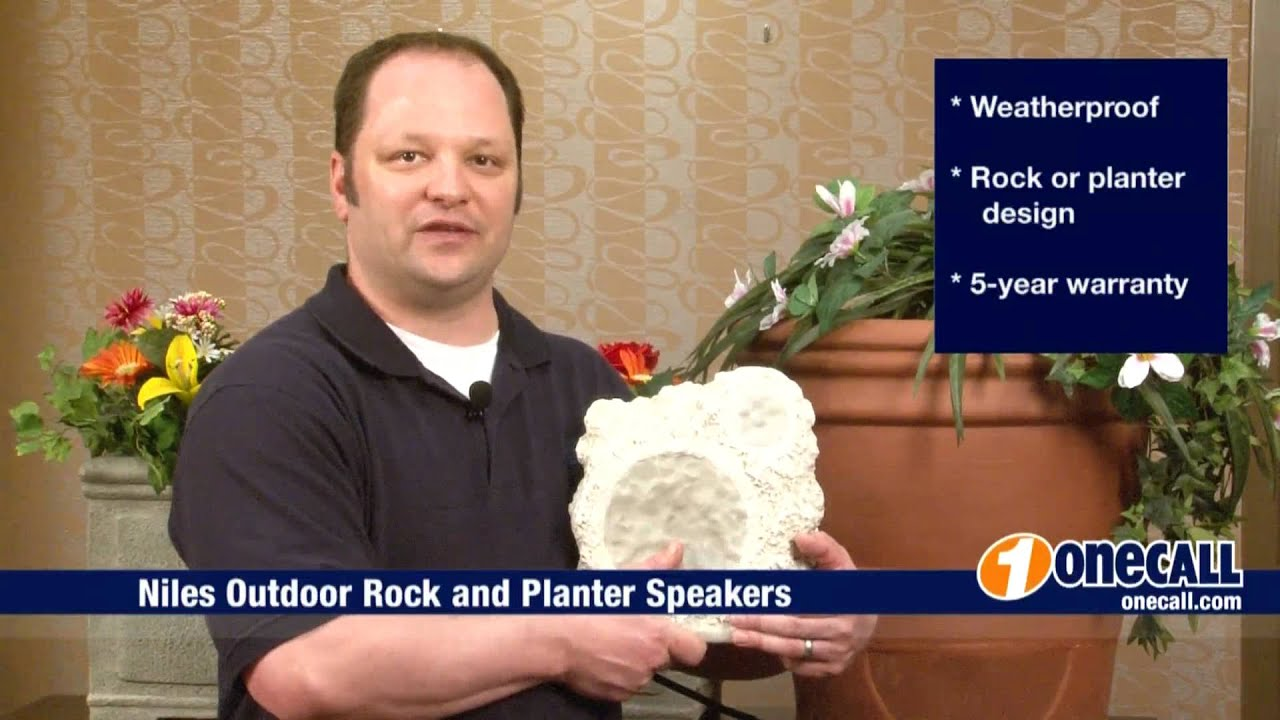 Outdoor Planter Speakers Closer look niles outdoor speakers overview by onecall youtube workwithnaturefo