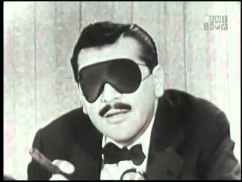 """What's My Line"" with panalist Ernie Kovacs and guest Edie Adams"