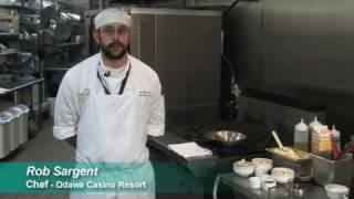 Odawa Casino Resort's Sage Restaurant - Mushroom Gnocchi