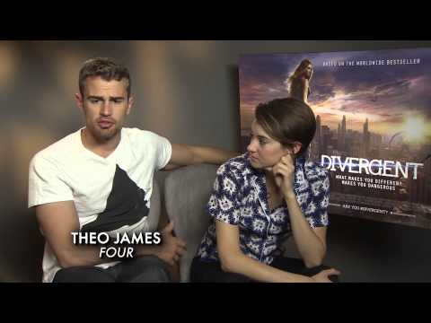 Face Your Fears w/ Divergent Cast Theo James, Shailene Woodley & Ansel Elgort from YouTube · Duration:  5 minutes 28 seconds