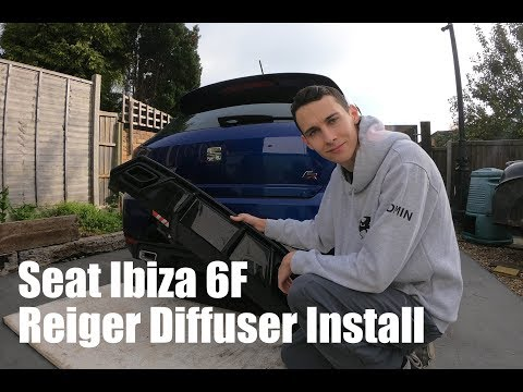 Installing A Reiger Diffuser To The Ibiza