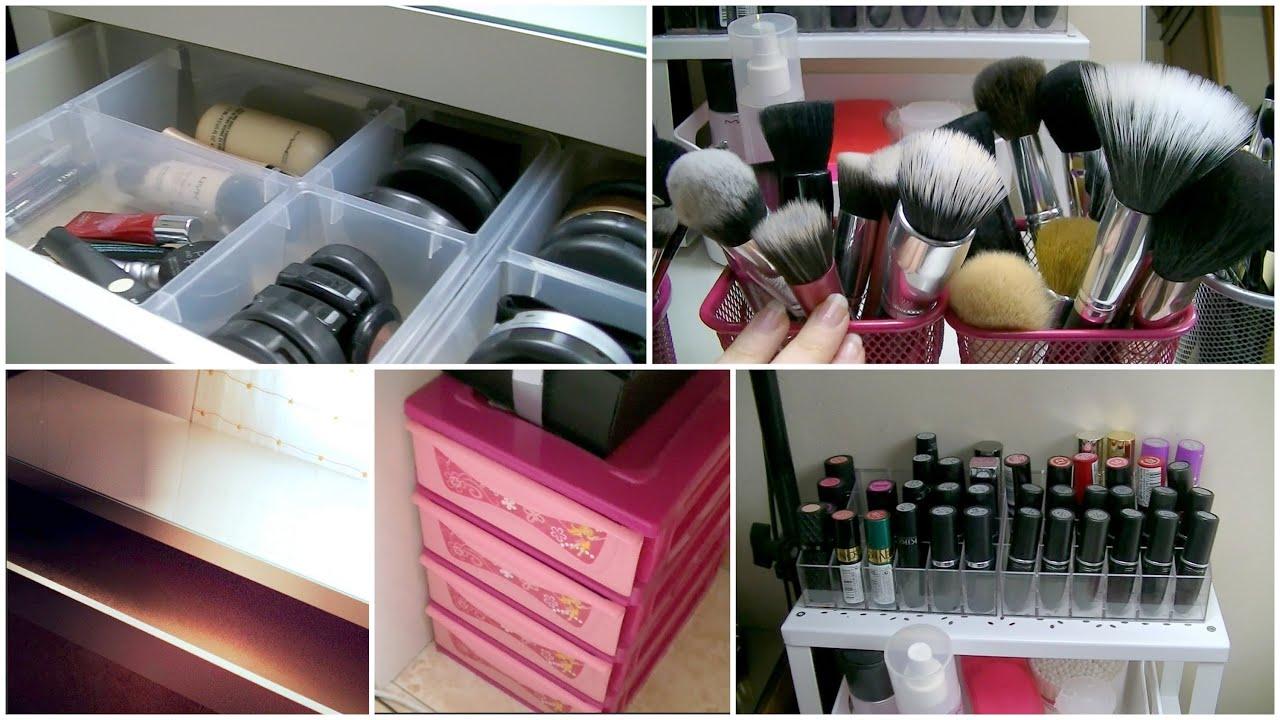 Mi nuevo tocador organizaci n de maquillaje y luces 2014 - Ideas para hacer un tocador ...