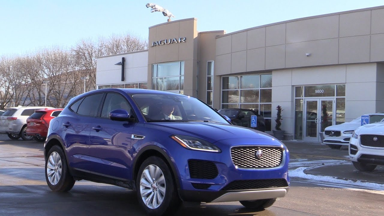 The Jaguar E PACE At Jaguar Des Moines