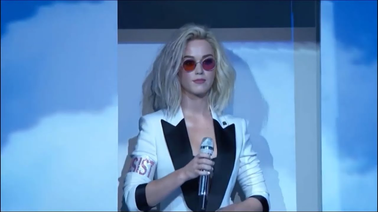 Download Katy Perry - Chained To The Rhythm (Live at The GRAMMYs Award 2017) ft. Skip Marley
