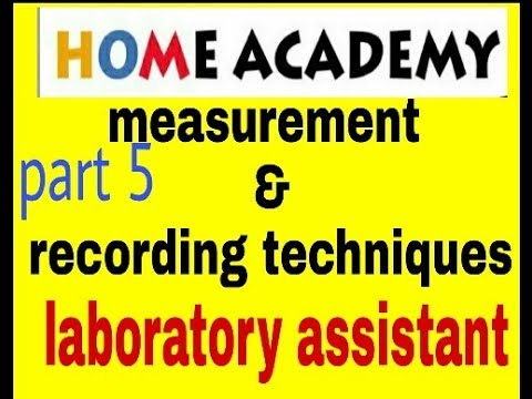 lab equipment and recording techniques for jkssb by home academy