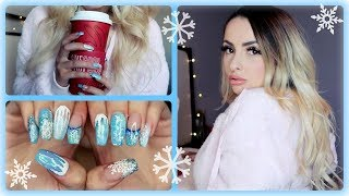 My Comfy Cozy Winter Outfit & Nails!!