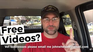 We're back! And Making Free Videos For Veteran Owned Businesses!!