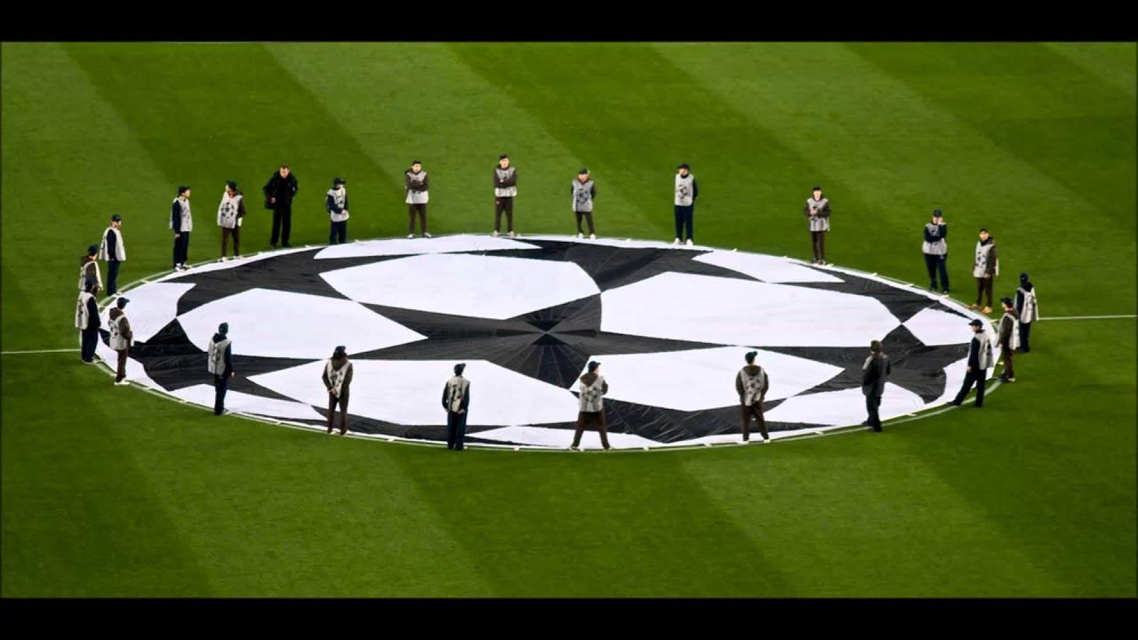 Bajnokok Ligája Himnusz dalszöveggel - YouTube