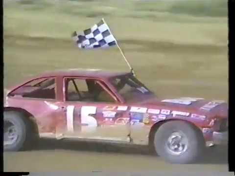 Misc July 1987 Beckley Motor Speedway street stock races