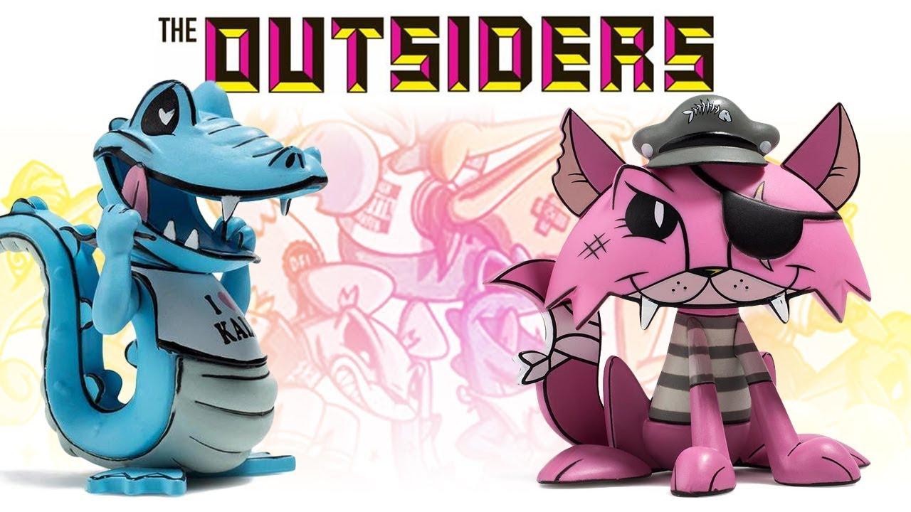 "2017 ""Pinky"" by Joe Ledbetter Kidrobot The Outsiders Series"