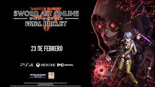 SAO Sword Art Online: Fatal Bullet para PC, PS4 y Xbox One Gameplay y Detalles